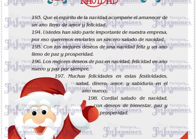 23- msjs. de navidad